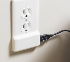SnapPower - SnapPower is a simple 2-plug AC outlet cover plate that includes a powerful 1-Amp USB outlet. It installs easily over any plug plate in your home without batteries or additional wiring.