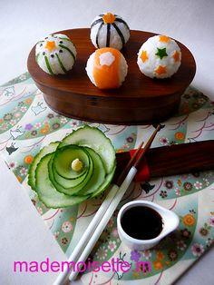 bento temari sushi