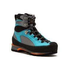 SCARPA Charmoz Pro GTX (440 CAD) ❤ liked on Polyvore featuring shoes, boots, waterproof hiking boots, hiking boots, water proof hiking boots, goretex hiking boots and breathable shoes