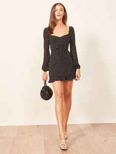 The 38 Coolest Fall Dresses on the Entire Internet - street style - Fall Dresses, Simple Dresses, Cute Dresses, Short Dresses, Summer Dresses, Chiffon Dresses, Dance Dresses, Homecoming Dresses, Bridesmaid Dresses