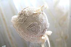 Baby beanie, crochet hat, size 03-06 months baby by HandmadebyNadiyaK on Etsy