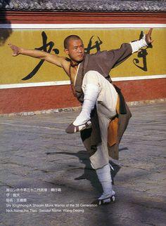 Shi Xing Hong, Shaolin warrior monk....an amazing martial artist