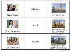 Printable Spanish FREEBIE of the Day: Estar en la Ciudad de Mexico ...