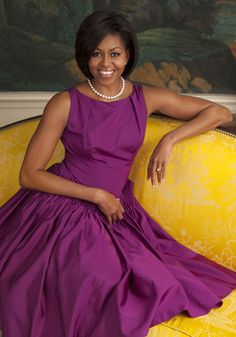 First Lady Michelle Obama, I will always have the greatest and upmost respect for this woman. She's amazing. She's one of my heros.