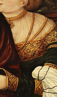 Lucas Cranach the Younger - LOT AND HIS DAUGHTERS,  (detail)