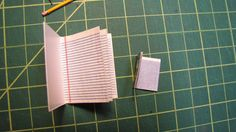 Here's a closer look at the inside of the miniature composition books.