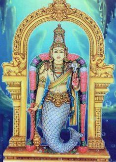 Matsya. Avatar of Vishnu.