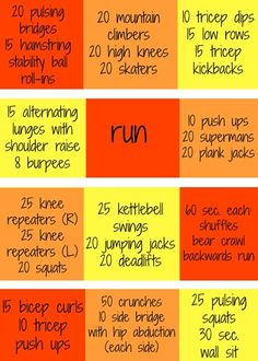 Boot Camp Workout - Complete each station for three minutes before resting for 30 seconds and moving onto the next