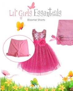 d51d57588c452 Find Lil' Girls Essentials on Etsy.com. FREE SHIPPING when you buy 6. Shorts  For Under DressesCute ...