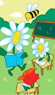 La escuela de las flores. Poesía y actividad matemática