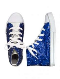 Justice shoes for girls | Justice Reverse Sequin High Top Sneaker customer reviews product