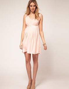 ASOS Maternity Exclusive Dress With Draping