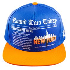 Round Two Today - New York - Snapback Cap