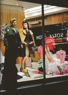 1945 Dept. Store window Display, New York City.
