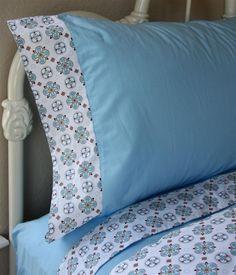 Modern Vintage Blue Sheet Set by Caden Lane