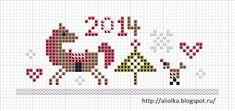 пам, пам, пам... а кони скачут и спешат!   до Нового года совсем мало, но Коняшки надеются попасть   и украсить собой мешочек для подар...
