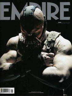 The Dark Knight Rises- Tom Hardy as Bane Empire Collector's Cover