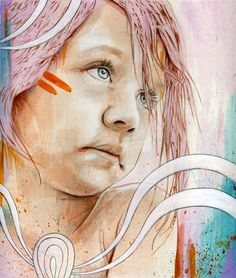 Michael Shapcott (born 1982 in Hartford, Connecticut) is painter, known for his daring color palette and emotionally charged portraits