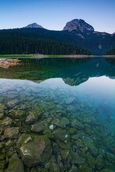 crno jezero, durmitor national park, montenegro.