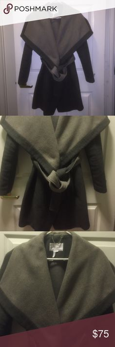 Jacket/coat This is my favorite jacket, just need to make some money...It is extremely stylish and form fitting. It's in great conditions/barely worn. Feel free to make offers BCBGeneration Jackets & Coats Trench Coats