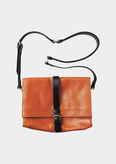FOLD OVER SATCHEL by TOAST