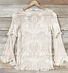 lace tops, white lace