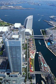 Viewing from Yokohama Landmark Tower