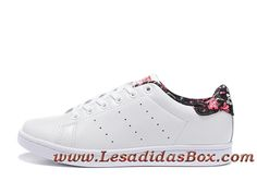 new products c4912 04052 Adidas Originals Homme Femme Chaussures stan smith Blanc Rose S79412 Adidas  prix