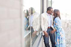 stylish Nashville engagement
