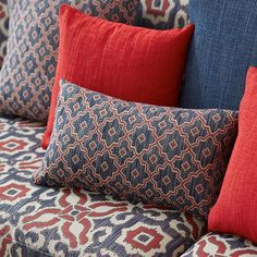 Gain access to the extensive Warwick Fabric collections by logging into your Warwick account or contact us for an account and to access your login. Fabric Display, Fabric Decor, Fabric Design, House Color Schemes, House Colors, Pillow Set, Pillow Covers, Warwick Fabrics, Fashion Patterns