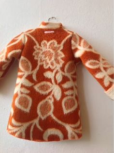 Tutto Riciclabile handmade: vintage blanket kids coat # 1