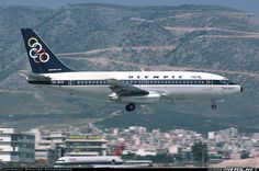 Boeing 737-284 at Athens  - Hellinikon (ATH / LGAT closed) Olympic Airlines, Flying With A Baby, Commercial, Boeing Aircraft, Civil Aviation, Jet Plane, Athens, Airplane, Olympics