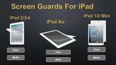 Quality #Screen_Guards For Your #iPad at xsiwireless.com Call Us ! Tel : 1.855.597.4974 Fax : 954.894.2228  Facebook Page : https://www.facebook.com/pages/XSI-Wireless/473227942730985  Don't Forget To make us Like To get More Information About New Products.