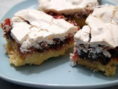 Canadian Baker Too: Viennese Chocolate Bars with chocolate,reapberry jam and meringue