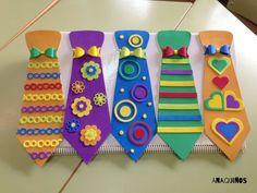 Imagen relacionada #manualidadesparaniños Tie Crafts, Foam Crafts, Craft Stick Crafts, Craft Gifts, Clown Party, Circus Party, Circus Crafts, Carnival Crafts, Bible Crafts For Kids