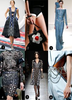 spring trend; beading...the runway matrix
