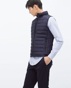 Image 2 of QUILTED WAISTCOAT from Zara