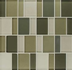 Bedrosians Manhattan- Central Park glass tile. Great for a backsplash or accent wall. Kitchen or bath.