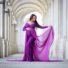 Plus Size Maternity Occasion Dresses- Maternity Photography Long Dress with Cloak Fitted Gown – Kids and Mom Shop Plus Size Mutterschaft Anlass Kleider – Mutterschaft … Mermaid Maternity Dress, Maternity Gowns, Maternity Pics, Maternity Photography Props, Pregnancy Photography, Photography Lighting, Photography Backdrops, Product Photography, Dresses For Pregnant Women
