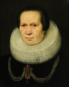Jan Anthonisz van Ravesteyn (attr.) Portrait of a Lady - Museums Sheffield