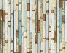 Scrapwood Wallpaper-03 Piet Hein Eek - eclectic - wallpaper - san francisco - by Wallpaper Collective