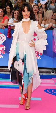 All the Stars Dressed for Summer at the iHeartRadio MuchMusic Video Awards - Camila Cabello from InStyle.com