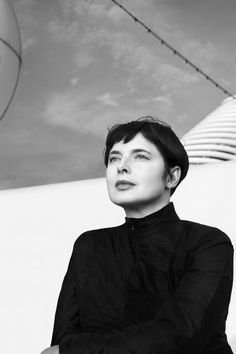 """""""Imperfection charms me, familiar things move me…a celebration of what we have, instead of what we long for. That for me, is glamour.""""Isabella Rossellini."""