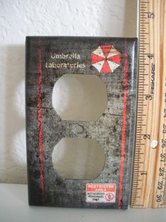 Resident Evil Umbrella Corporation Wall Plug Outlet  Plate Cover