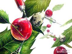 옷걸이 기초디자인 - Google 검색 Drawing Studies, 2d Design, Sketches, Watercolor, Digital Art, Fruit, Drawings, Crafts, Painting