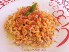 Pasta alla trapanese - Ricette di cucina Il Cuore in Pentola