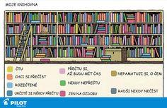 Do jaké barvy je laděna tvoje knihovna? :) #color #books #pilotpen #happywriting