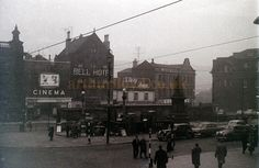 The Cartoon Cinema, Fitzalan Square, Sheffield in later to become the Classic Cinema - Courtesy Allan Hailstone. Sources Of Iron, Industrial Development, South Yorkshire, Derbyshire, Present Day, Sheffield, Black History, Rome, The Past