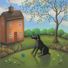 Our Faithful Friend - £120 by Paul Horton., free delivery within the UK on all orders over £75