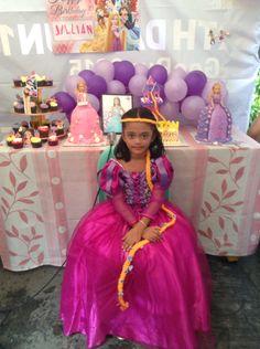 Rapunzel themes party